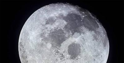 La Luna (NASA)