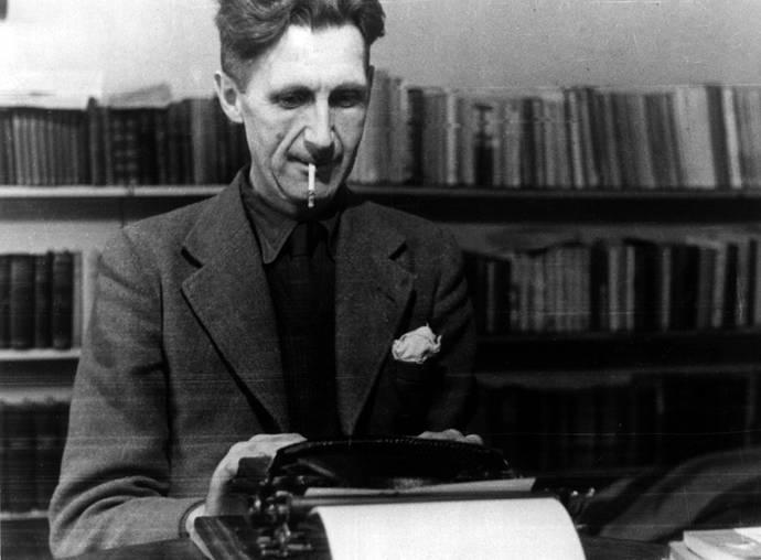 George Orwell, autor de la novela distópica '1984'