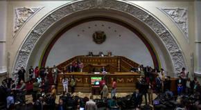 El Parlamento venezolano declara el
