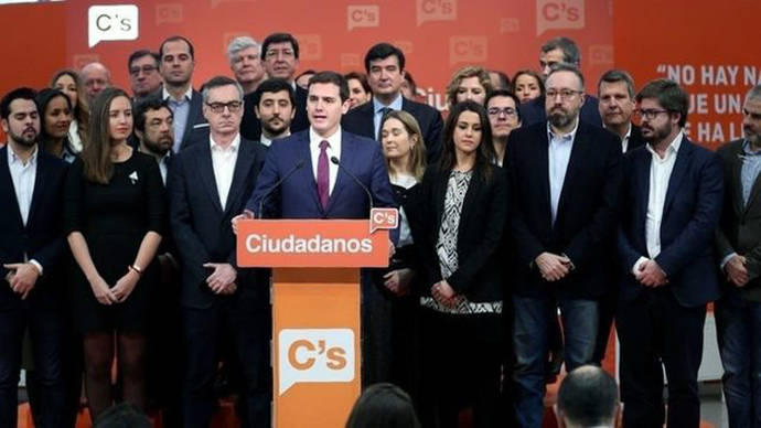 Los compromisarios de la candidatura de Albert Rivera arrasan en Madrid y pierden en Cataluña