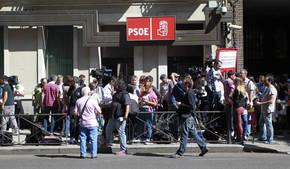 Sede nacional del PSOE en la calle Ferraz/ Jorge París