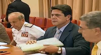 Federico Trillo en su etapa como ministro de Defensa