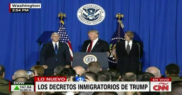 Trump humilla a México al anunciar que le obligará a pagar el muro