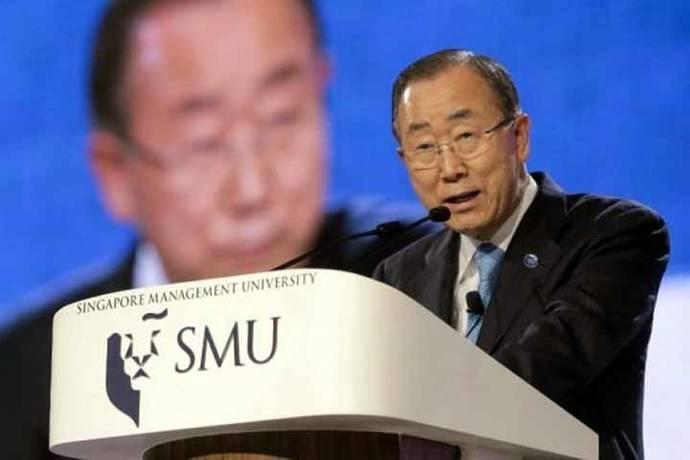 Ban Ki-moon renuncia a la carrera por la presidencia surcoreana