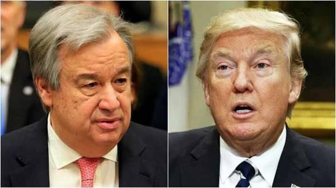 ONU pide anular el veto de Donald Trump