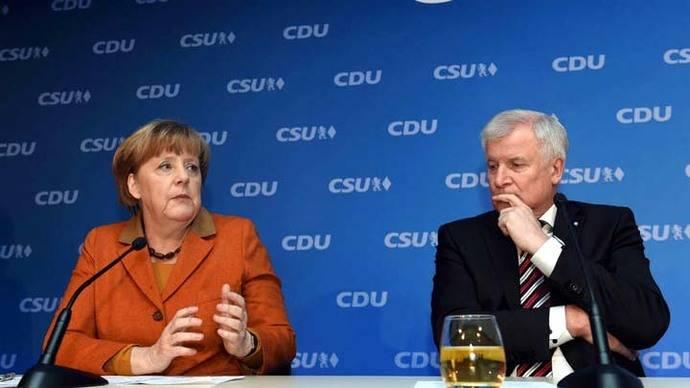 Conservadores bávaros apoyan a Merkel en su campaña