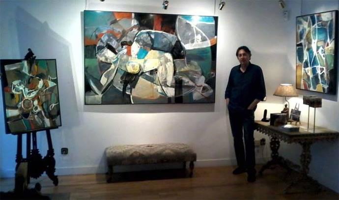 """Jorge Pedraza: """"Metamorfosis"""", exposición de pintura en el Círculo de Arte de Toledo"""