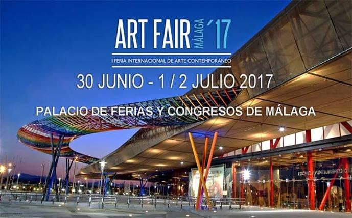 Art Fair Málaga'17, I Feria Internacional de Arte Contemporáneo