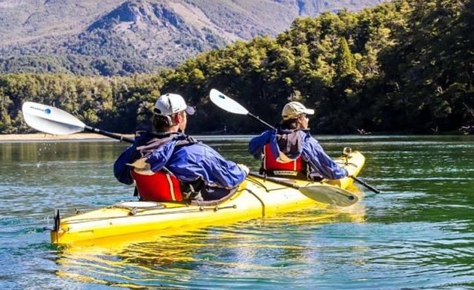 Río Arrayanes en Kayak
