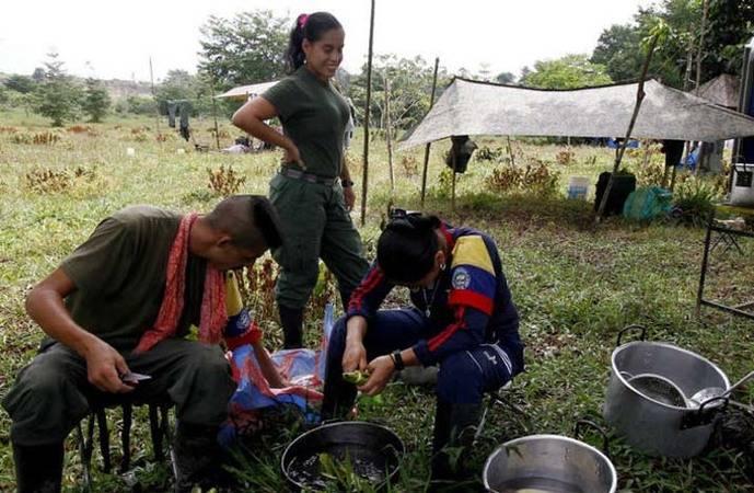 Las FARC comenzarán entrega de más de medio centenar de menores de edad