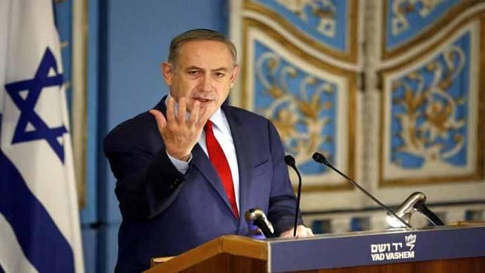 Netanyahu niega que tuit en apoyo a Trump se refiriera a México y ataca a los medios
