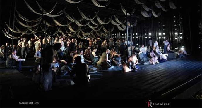Billy Budd, de Benjamin Britten, en el Teatro Real de Madrid
