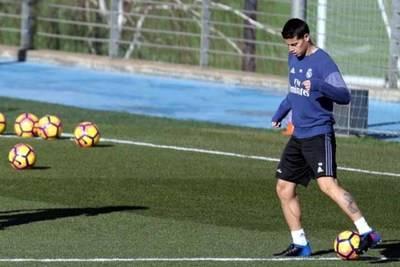 James Rodríguez, mediocampista del Real Madrid