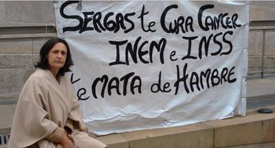 Beatriz Figueroa fue diagnosticada de cáncer de mama con 45 años