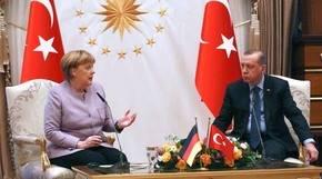 Merkel expresa ante Erdogan su preocupación por la libertad de prensa en Turquía