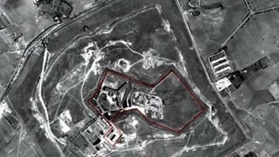 La prisión donde se habrían cometido los ahorcamientos.   Fuente: Amnistía Internacional