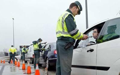 Tres de cada diez delitos atentan contra la seguridad vial en España