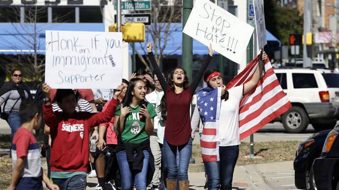 Estados Unidos vive un día sin inmigrantes en protesta contra Trump