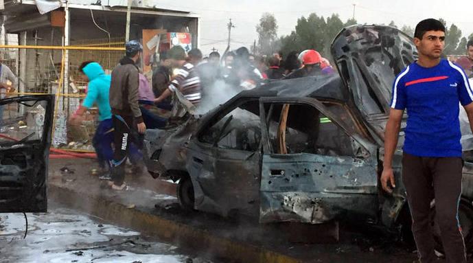 Elevan a 40 los muertos en un ataque con carro bomba en suroeste de Bagdad