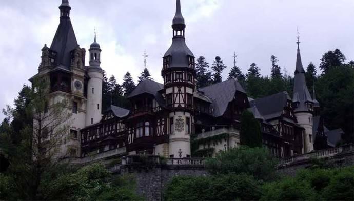 El castillo de PELES en Sinaia (Rumanía)