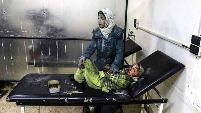 Al Assad refuerza bombardeos en Damasco antes de las negociaciones de paz
