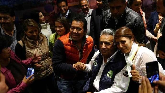 Consejo Electoral ecuatoriano llamará a segunda vuelta en abril