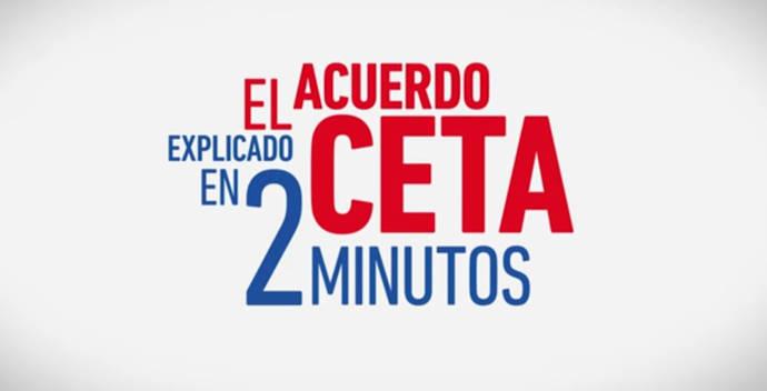 El acuerdo comercial CETA explicado en dos minutos