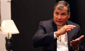 El presidente de Ecuador, Rafael Correa/ Jorge París
