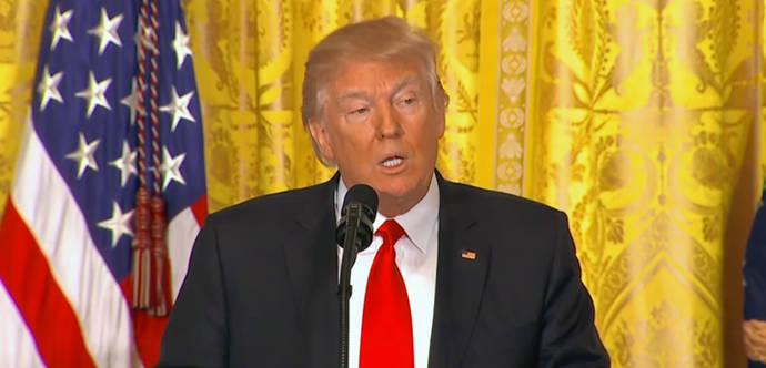Trump se inventa un atentado en Suecia