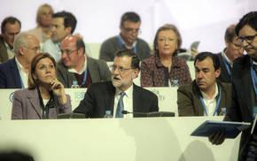 Mariano Rajoy, entre María Dolores de Cospedal y Fernando Martínez-Maillo, nuevo coordinador del PP/JON BARANDICA