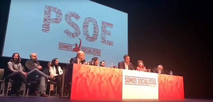 Pedro Sánchez en el acto de presentación de su nuevo proyecto