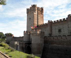 Castillo de La Mota: La última morada de Isabel La Católica