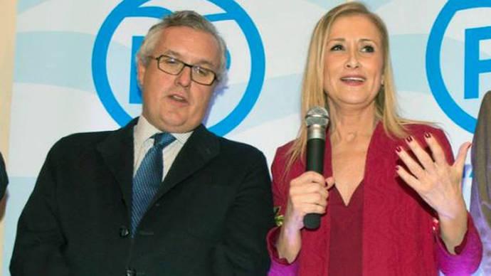 Luis Asúa y Cristina Cifuentes, candidatos a la presidencia del PP de Madrid