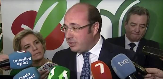 El presidente de Murcia en una imagen de archivo