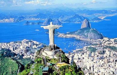 Río de Janeiro, ciudad grande y alegre de Brasil