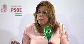 La pelea entre las bases y el aparato reduce el apoyo público de los barones a Susana Díaz