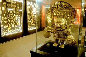 Bogotá, la capital del oro