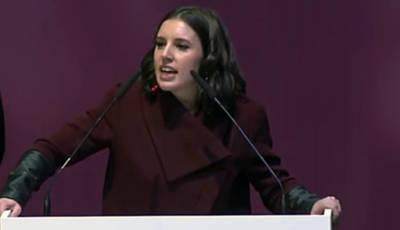 Irene Montero, actual portavoz de Podemos en el Congreso