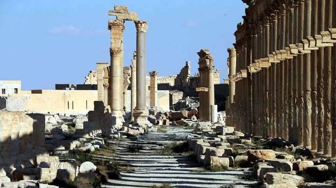 Ejército sirio recupera Palmira de manos del Estado Islámico
