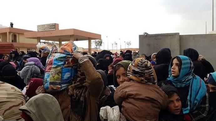 Más de 45.000 personas huyen de los combates en Mosul