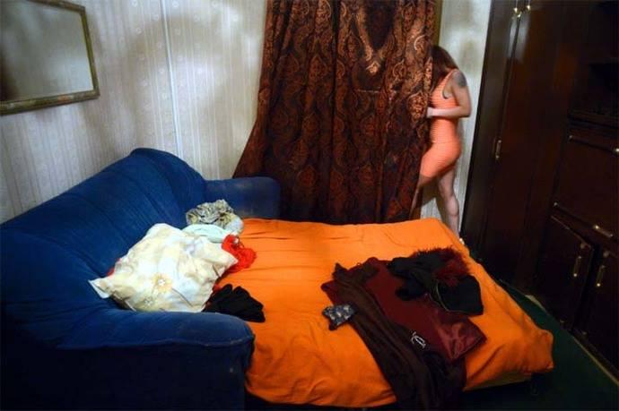 Nastya, de 31 años, una prostituta rusa.