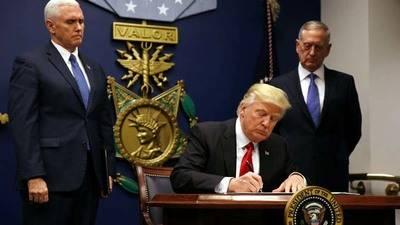 Trump firma el nuevo decreto migratorio