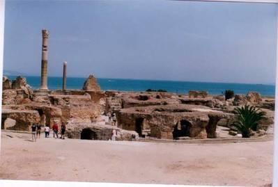 Ruinas de Cartago...