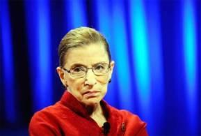 La jueza de la Corte Suprema de Estados Unidos Ruth Bader Ginsburg
