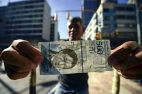 El billete venezolano es de alta calidad y serviría para falsificar otras monedas, según la policía