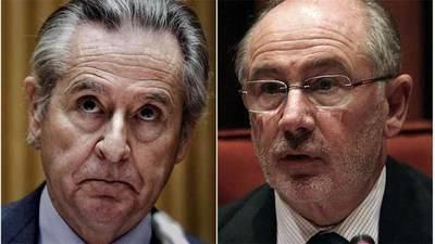 Miguel Blesa (i) y Rodrigo Rato