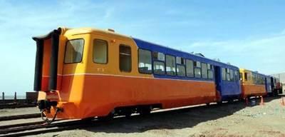 Luego de 20 años volvió el Tren Arica-La Paz