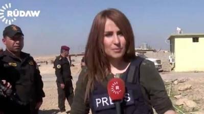 La periodista Shifa Gardi