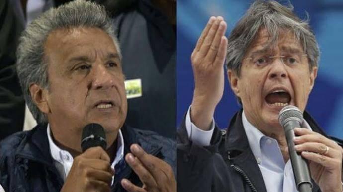 Ecuador: Lasso le ganaría a Moreno en segunda vuelta