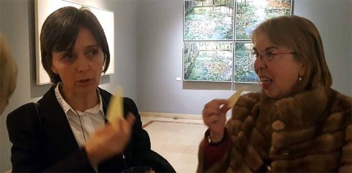 Arantxa Aguirre habla sobre Belleza, Música y Cine en la Tertulia Ansorena